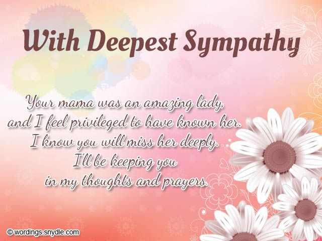 Sympathy Messages  Sympathy Card Messages Examples  Creative