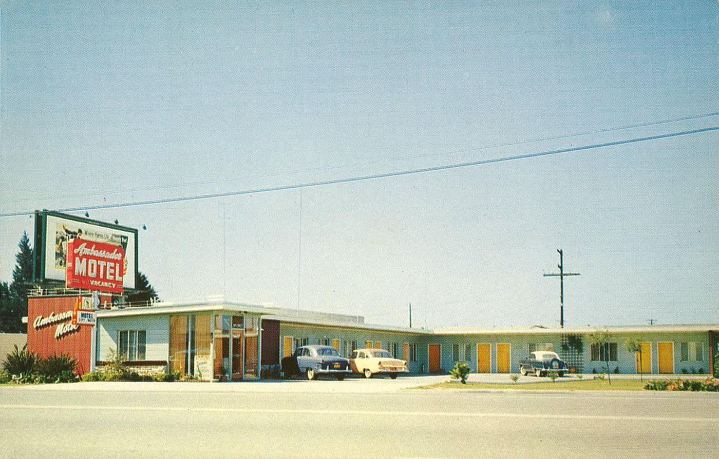 Ambassador Motel Oxnard Ca Abandoned Hotels Oxnard Motel