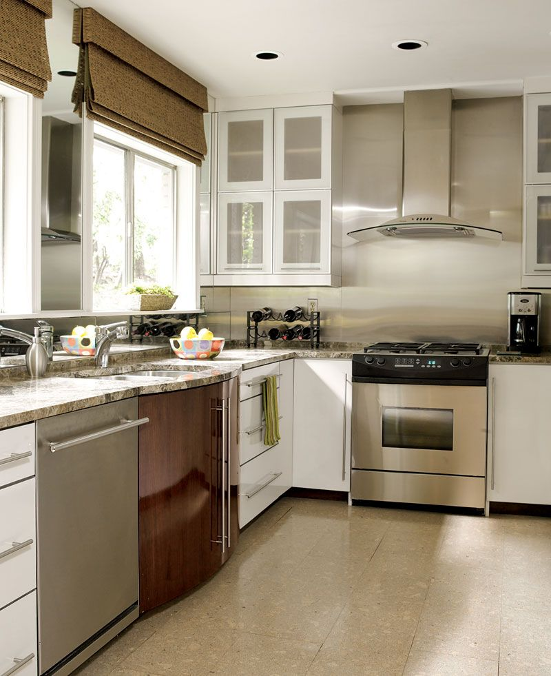 Best Beautiful Efficient Small Kitchens Modern Kitchen 640 x 480