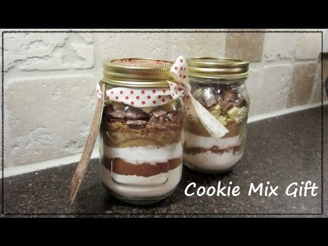 Cookie Mix in a Jar Gift - DIY
