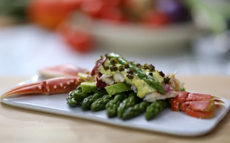 fresh lobster salad recipe recipes to cook pinterest fresh lobster lobster salad and salads