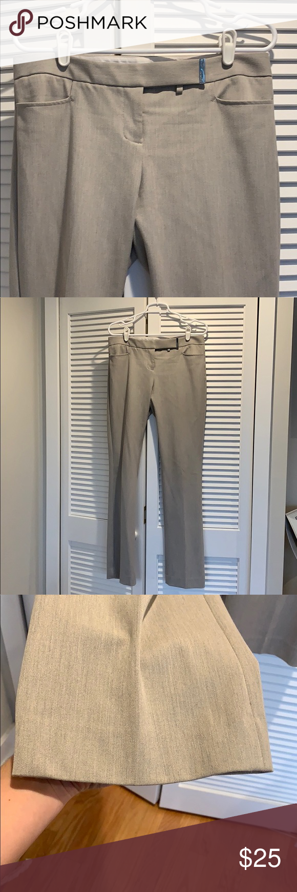 Express Columnist Slacks These are great, really comfortable work pants. Have loved them for years. They are just too big for me now. Lightly worn. No damage at all. Express Pants Trousers