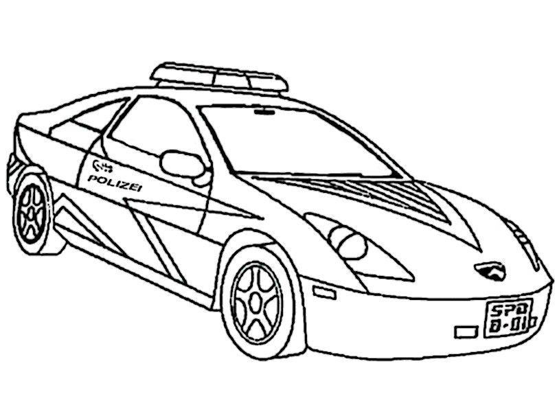 Ausmalbild Polizei Auto Http Www Ausmalbilder Co Ausmalbild Polizei Auto In 2020 Cars Coloring Pages Truck Coloring Pages Race Car Coloring Pages