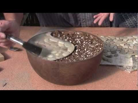 how to make miniature cement