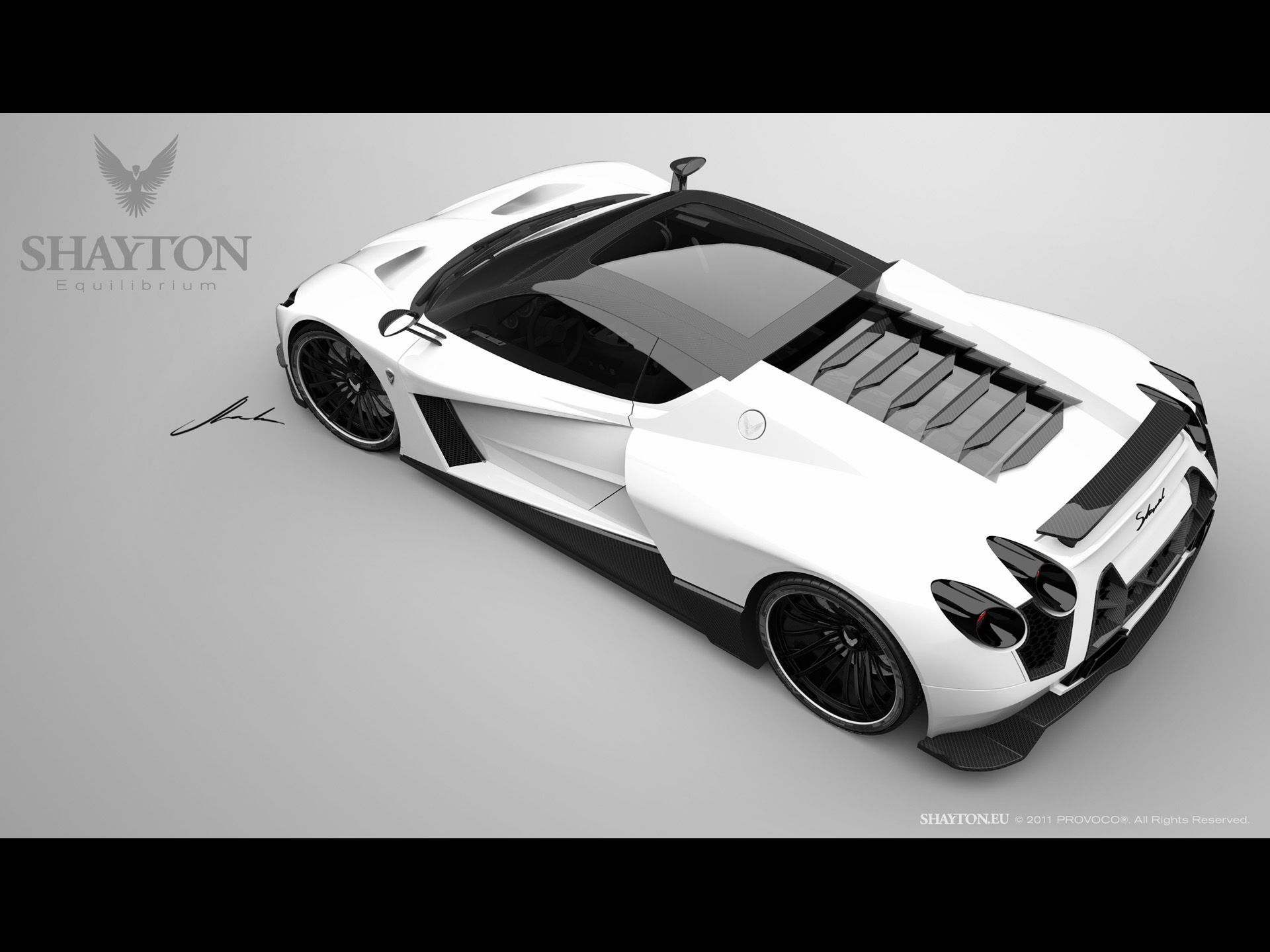 2011 Shayton Equilibrium Renderings Top Rear And Side