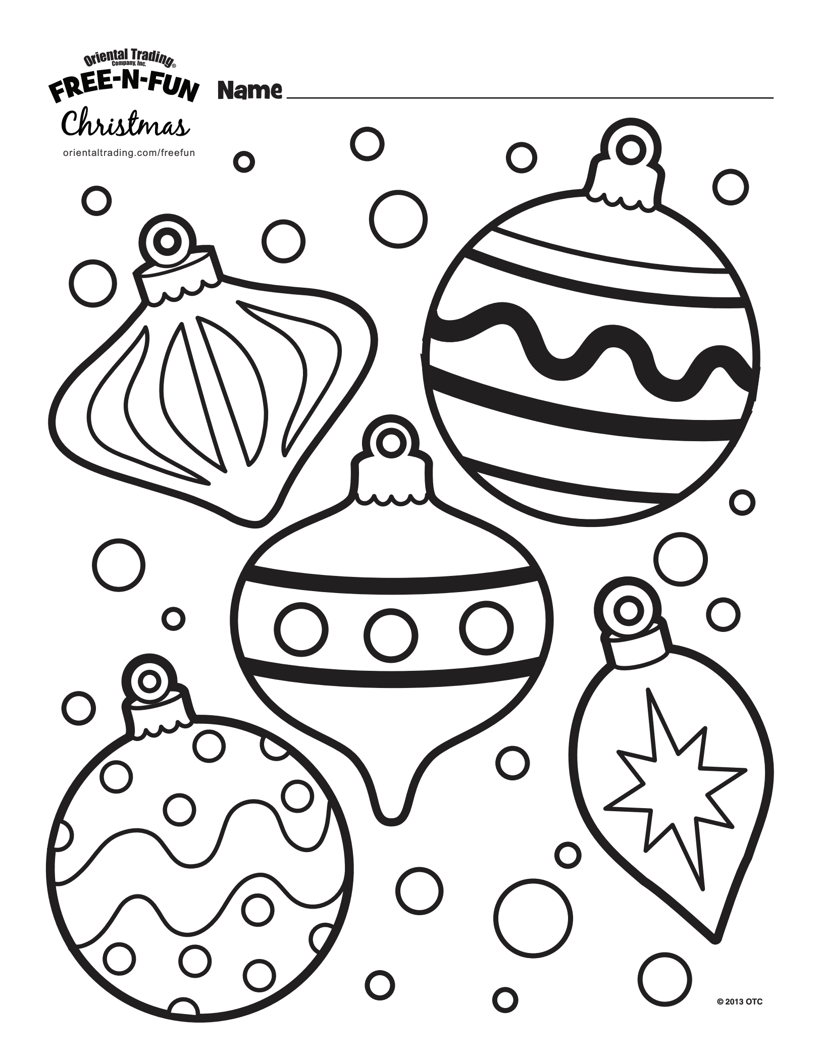 Printable Christmas Colouring Pages The Organised Housewife Printable Christmas Coloring Pages Free Christmas Coloring Pages Christmas Ornament Coloring Page