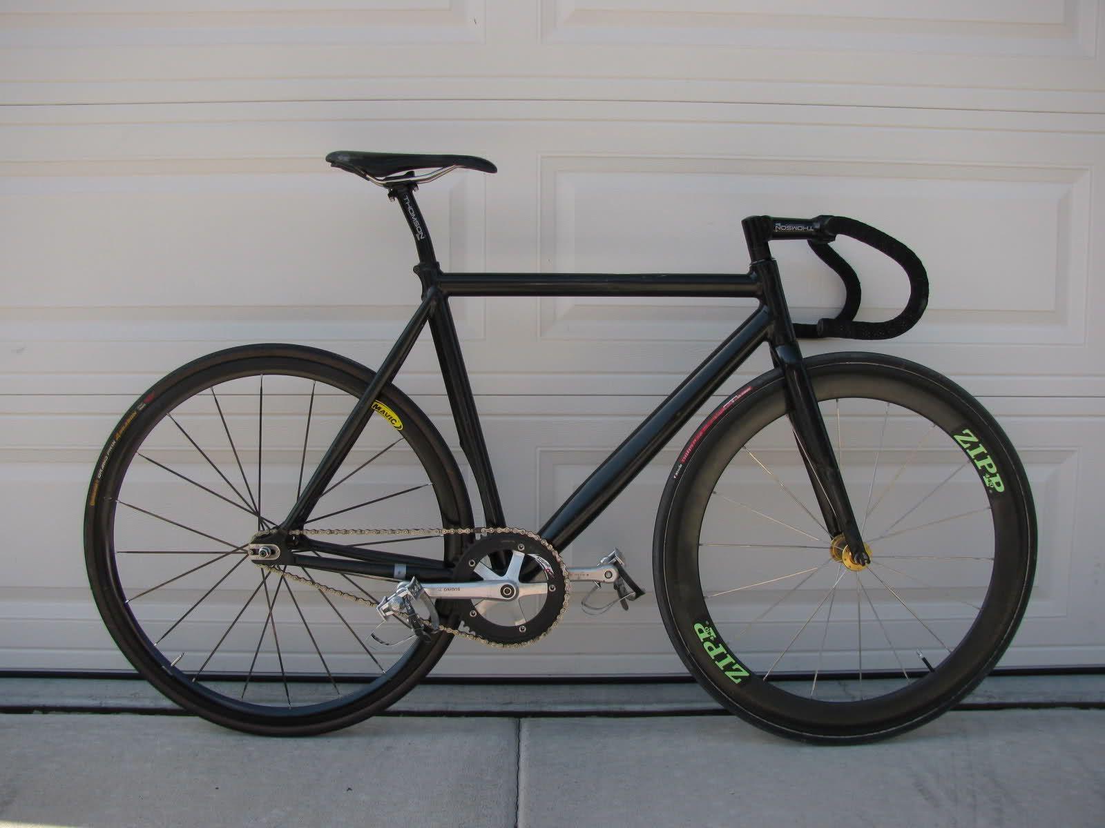 Bianchi Super Pista Black Bikes Fixed Gear Single