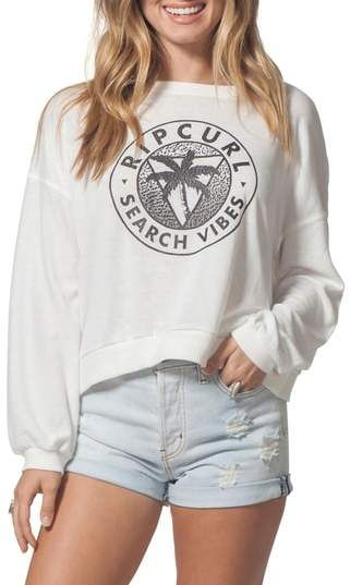 31947ef090 Rip Curl Search Vibes Crop Sweatshirt | clothes in 2019 | Rip curl ...