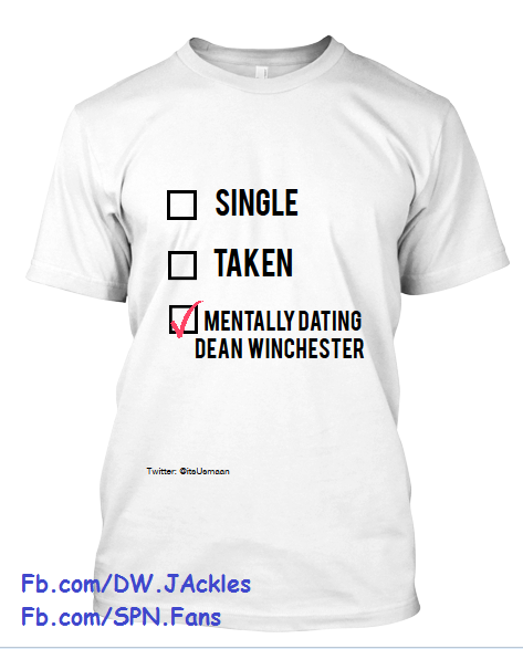mentally dating dean winchester hoodie