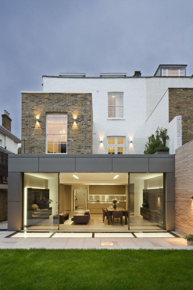 house in london by mario mazzer architects anbau moderne h user und winterg rten. Black Bedroom Furniture Sets. Home Design Ideas