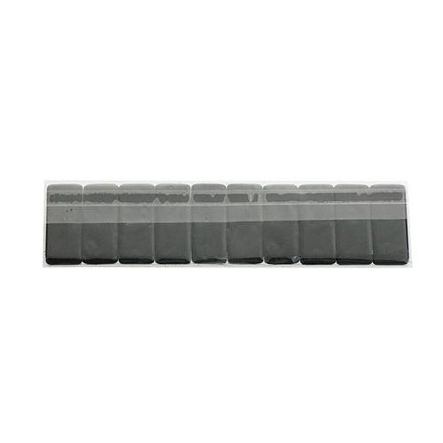 White Palomino Blackwing Pencil Replacement Eraser Pack of 10 Black