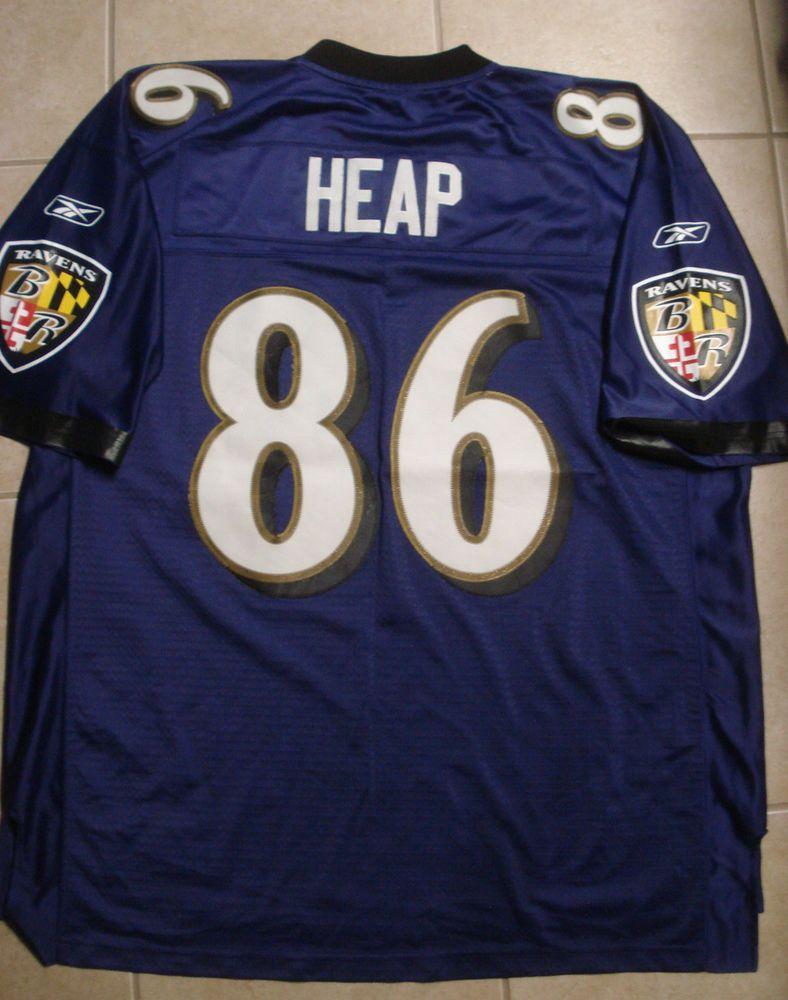 NFL BALTIMORE RAVENS TODD HEAP #86 FOOTBALL JERSEY-REEBOK MENS ...