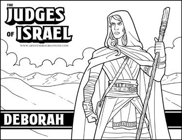 The Judges Of The Bible Deborah Bible Lessons For Kids Bible