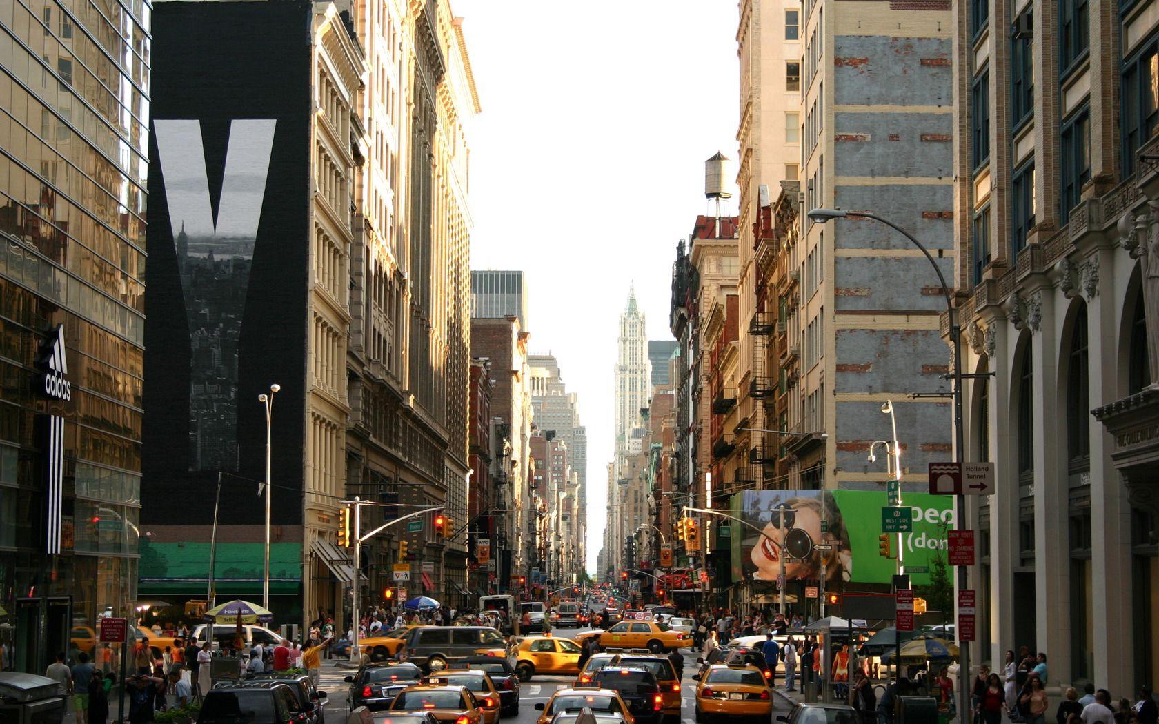 New York City New York Wallpaper City Wallpaper New York Street
