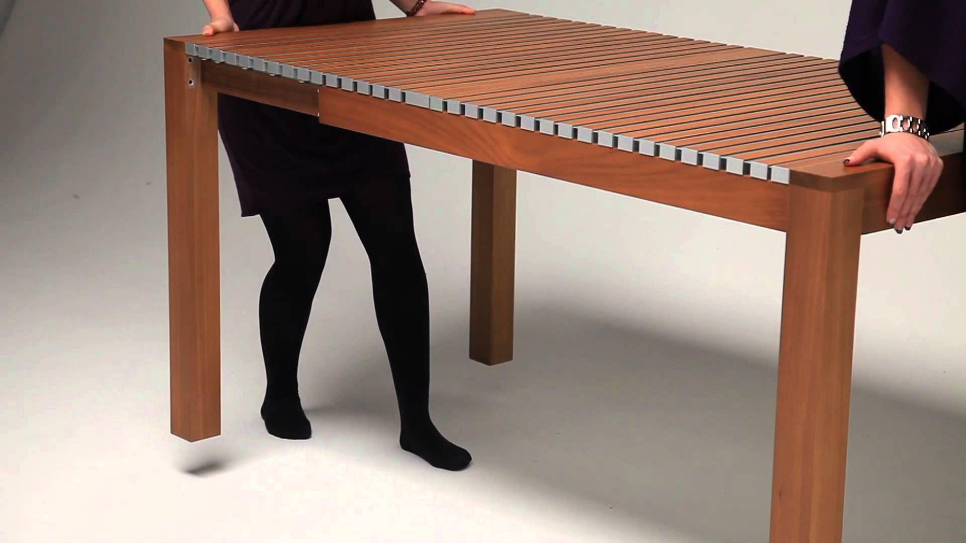 Tantra chair dimensions  Table extensible dissimulée par Julien Vidame