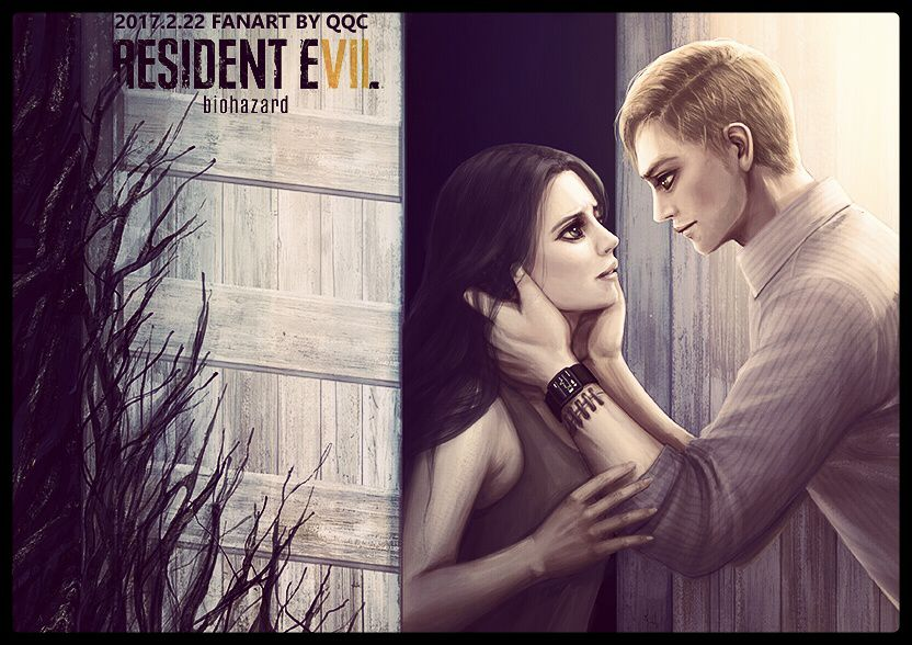 Mia And Ethan Resident Evil 7 By Qqcworld Deviantart Com On