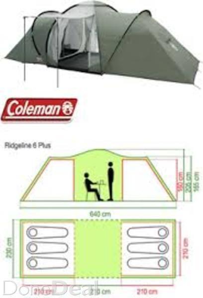 Coleman Ridgeline Plus Six Man Tent For Sale In Dublin On Donedeal Tent Sale Coleman Sixth Man