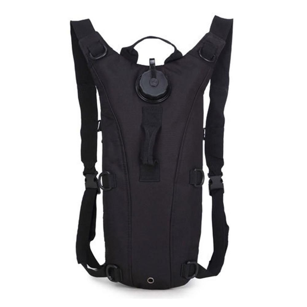 Lightweight 3L Water Canteen Bladder Bag Pouch Cycling Hydration Packs Knapsack Vest Backpack with Drinking Hose