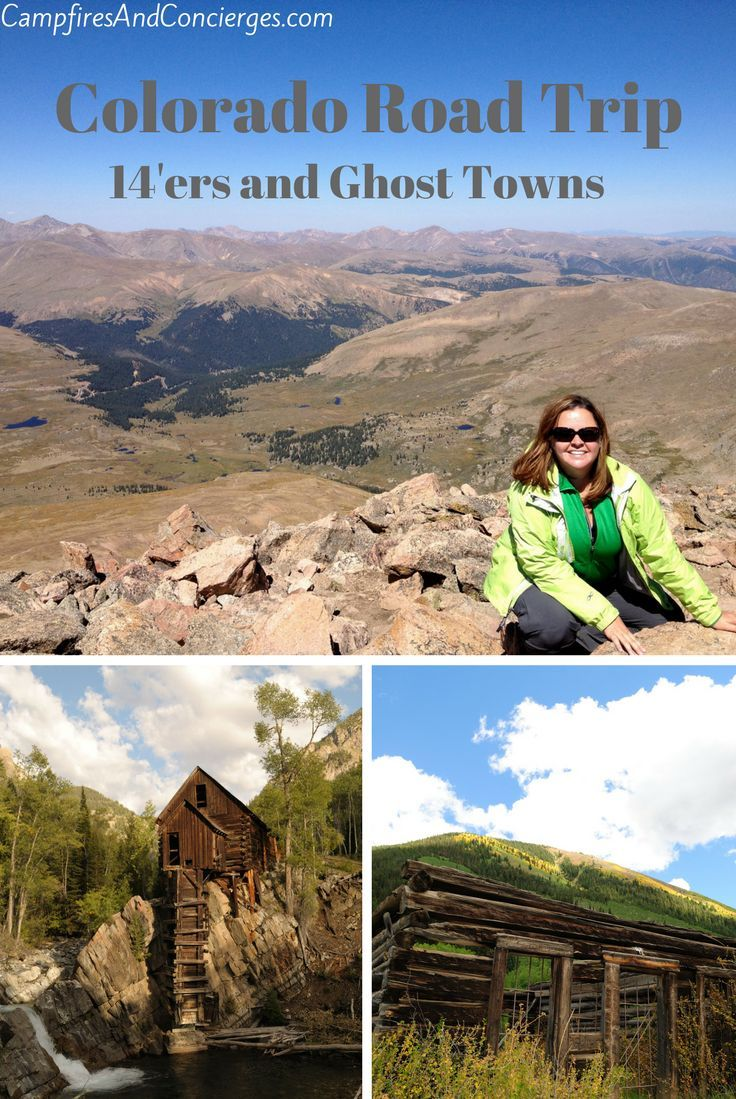 14'er hike and overnight in a ghost town