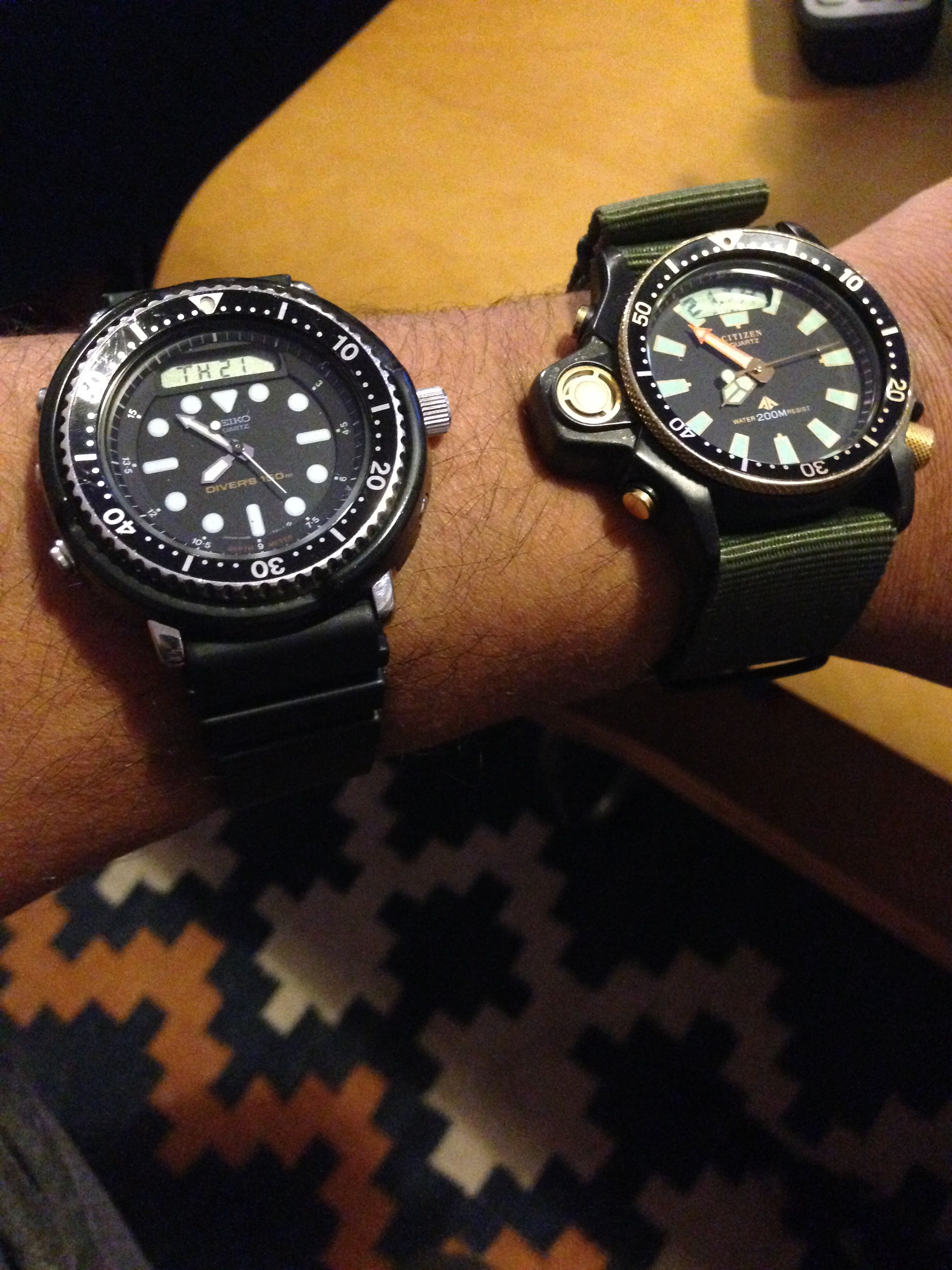 comments and watches seiko r new badass watch first