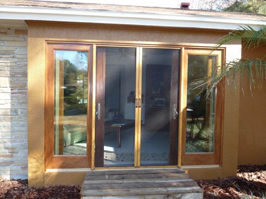 Comfortable retractable screen doors sliding screen