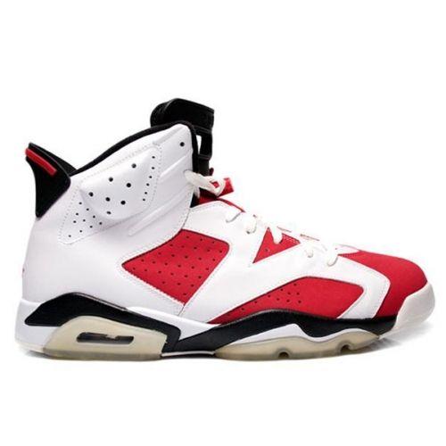 Air Jordan 6 (VI) Original (OG) Carmine White Carmine Black 322719 cheap