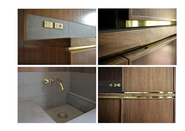 Best Metal Inlay Bathroom Design Joinery Details Furniture 640 x 480