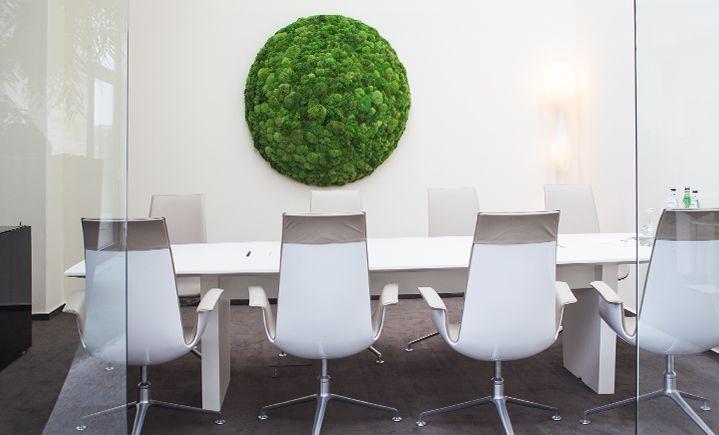 moss object by art aqua moss green natural vertical. Black Bedroom Furniture Sets. Home Design Ideas