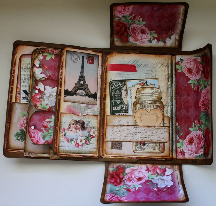 Related Image Altered Books Mini Scrapbook Albums Scrapbook
