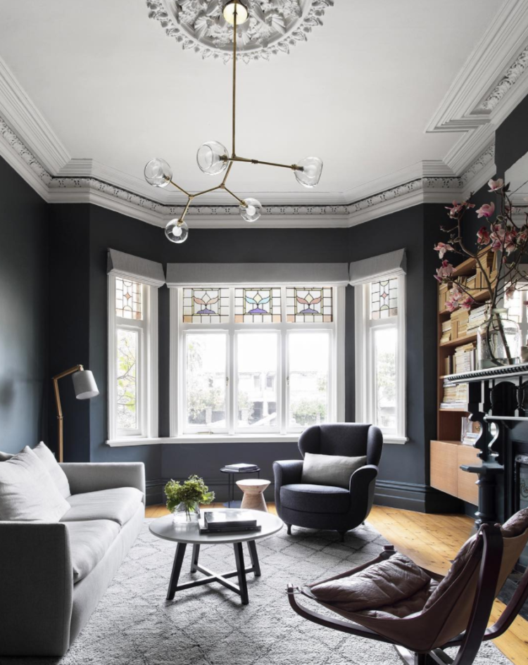 10 Beautiful Rooms | Victorian living room, Dark living ...