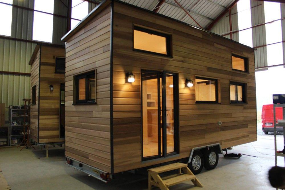 Tiny House Expérience Simple Mezzanine Fabrication