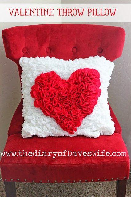 Especial San Valentin 20 DIY de Cojines
