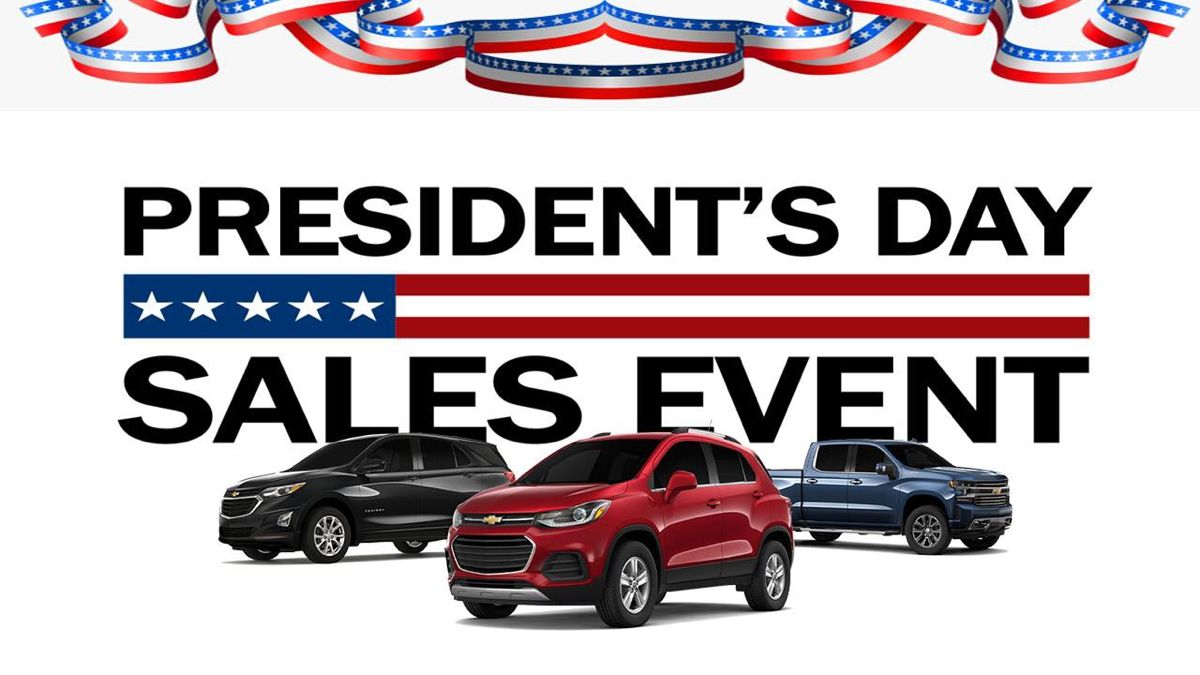 2020 President's Day Sales Event in 2020 New chevy
