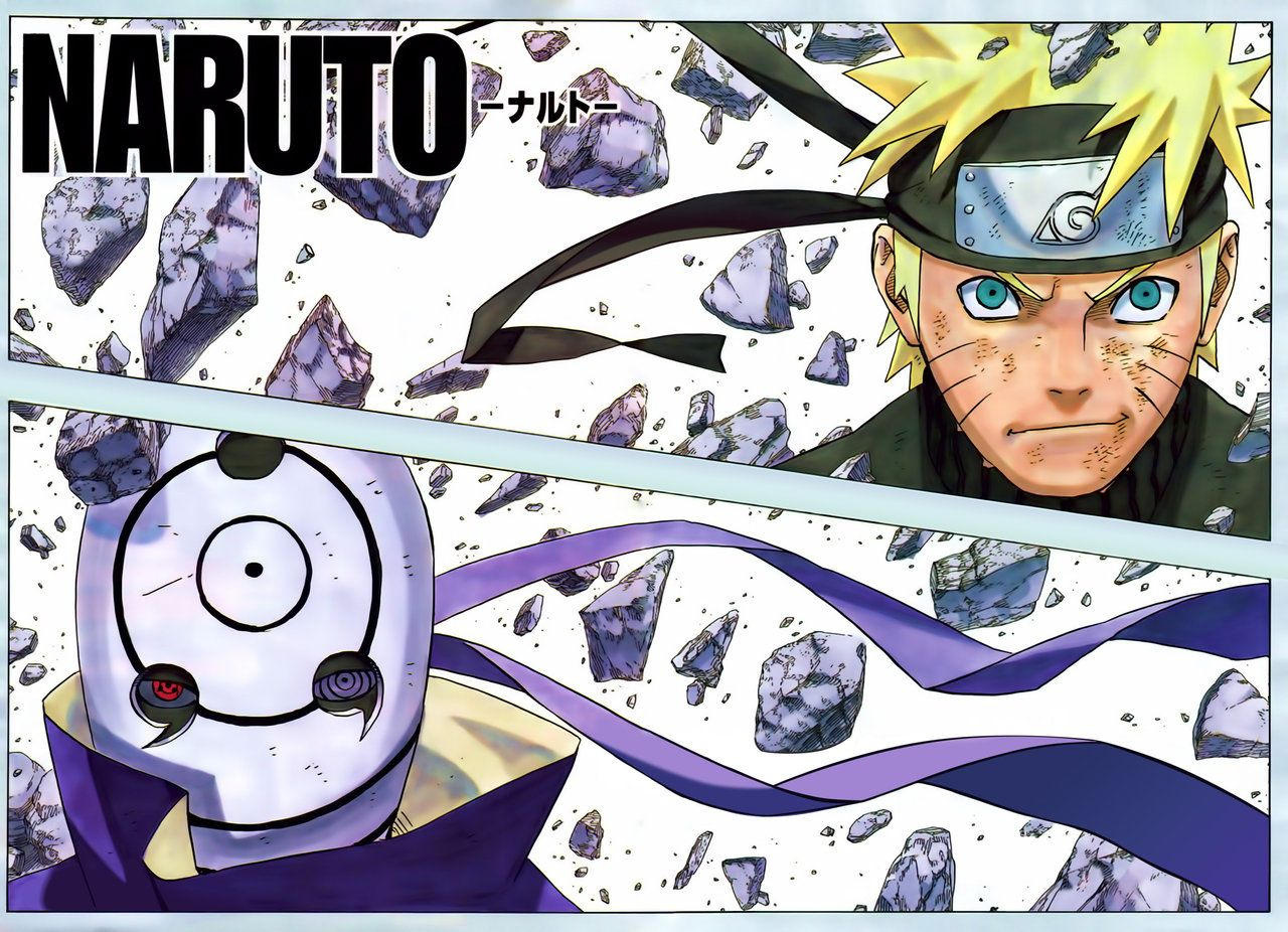 Naruto Manga Color Pages | Duam