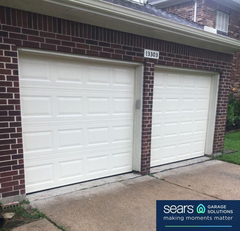Double 8x7 Replacement After Garage Door Design Garage Door
