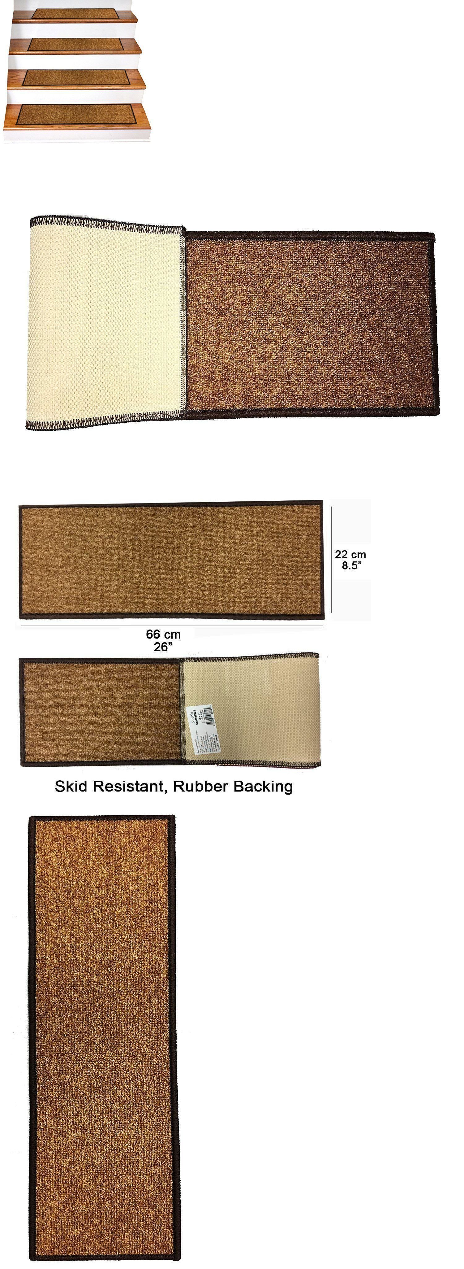 Best Stair Treads 175517 14 Pcs Non Slip Quality Carpet 400 x 300