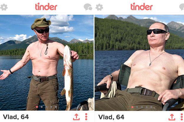 Shirtless pic on tinder