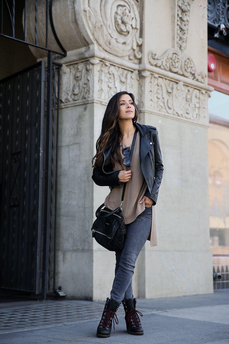 602f61e4fa4 street style  fashion Wedge Ankle Boots