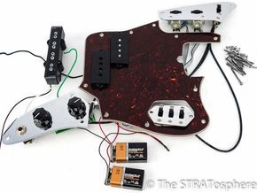 Loaded Pickguards The Stratosphere Pickguard Fender Jaguar Custom Guitar