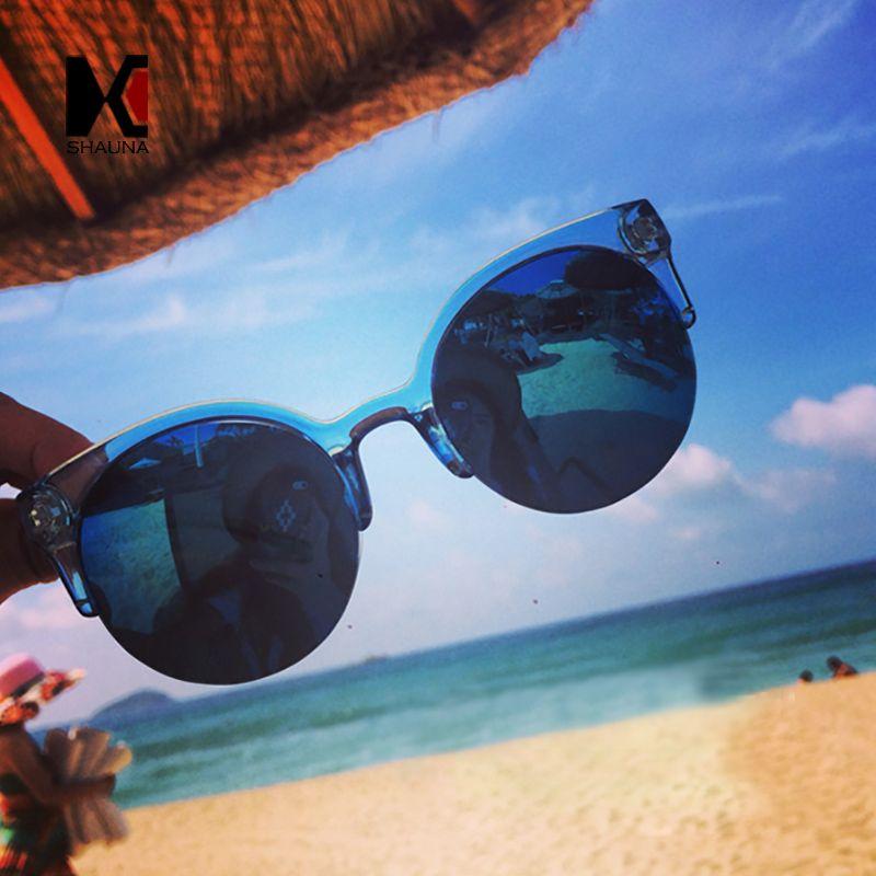 Shauna bisagra de aleación estilo vintage cat eye sunglasses mujeres ...