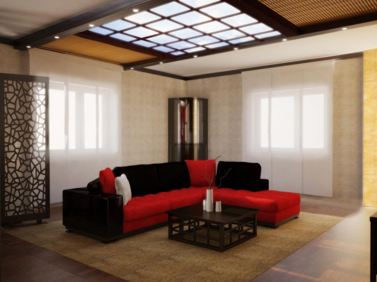 stunning red brown and black living room design ideas living