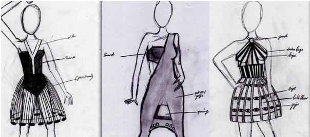 164f75a78f4cc5 kleding ontwerpen schetsen - Google zoeken | kleding - Kleding ...