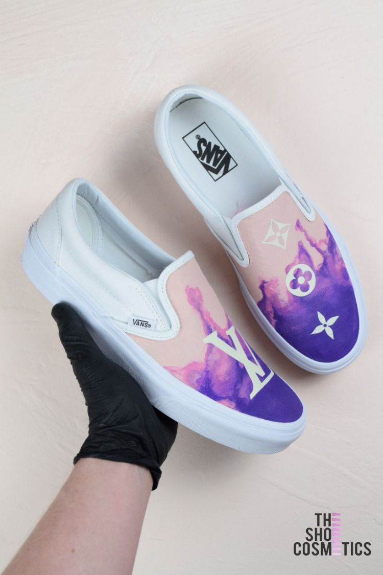 Explore our new Louis Vuitton inspired custom Vans slip on shoes. Looking  for Slip on ecb889d78