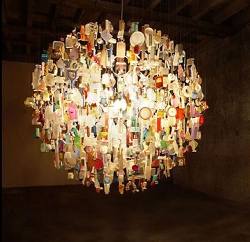 lights etc pinterest stuart haygarth tide chandelier made from items picked up off the beach aloadofball Gallery
