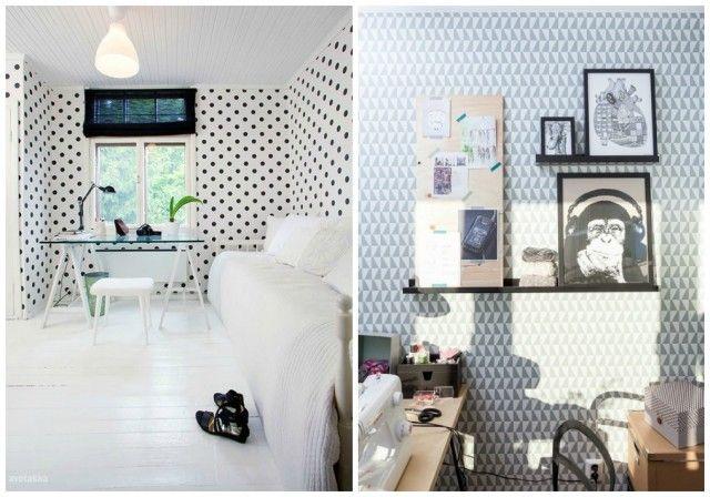 Decorar tus paredes con papel pintado Tus, Pintado and Paredes