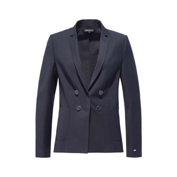 6eeae48c3c092 Tommy Hilfiger Ola Blazer ( 135) ❤ liked on Polyvore featuring outerwear