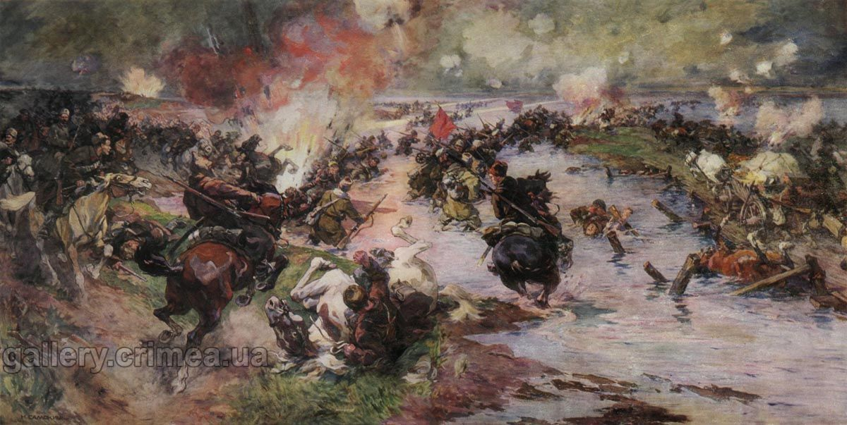 Paintings and drawings on the theme of the Russian Civil War - Page1
