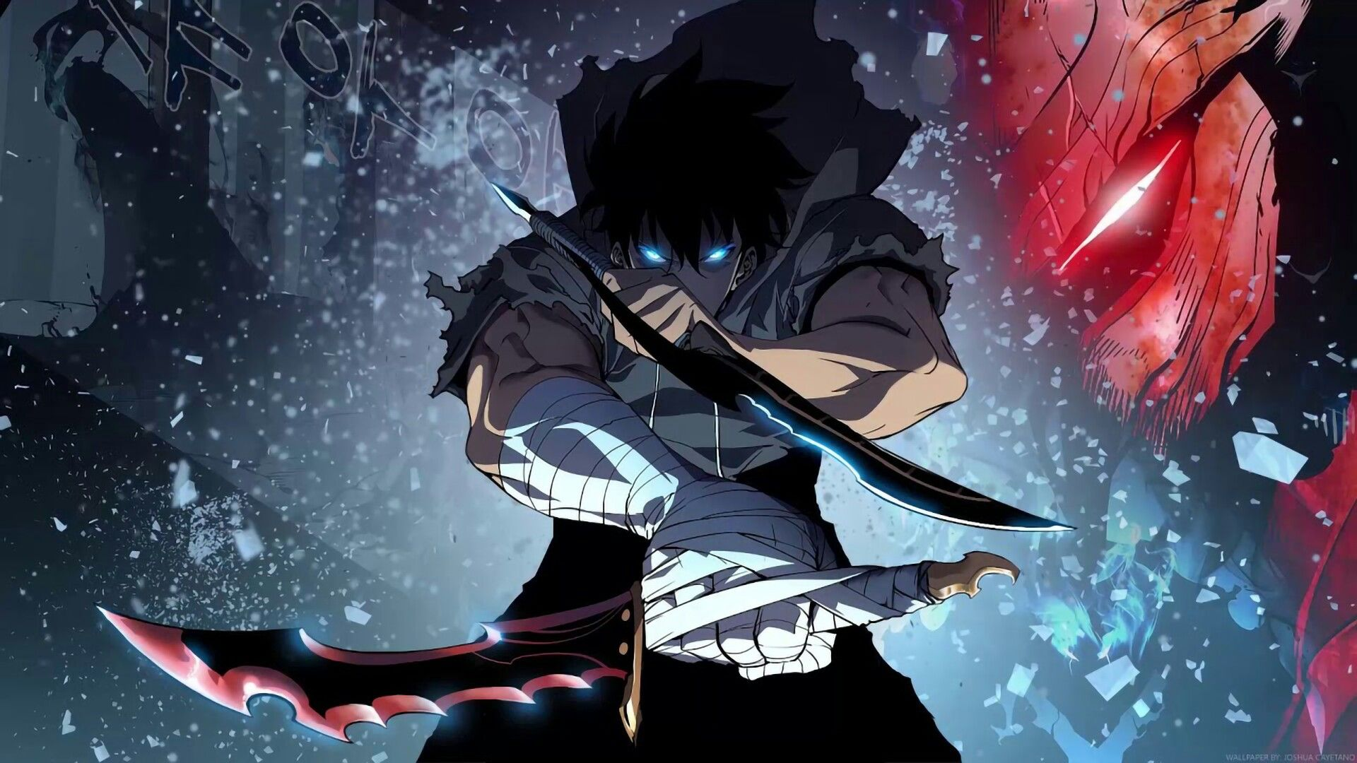Solo Leveling Anime Wallpaper Cool Anime Wallpapers Hd Anime Wallpapers
