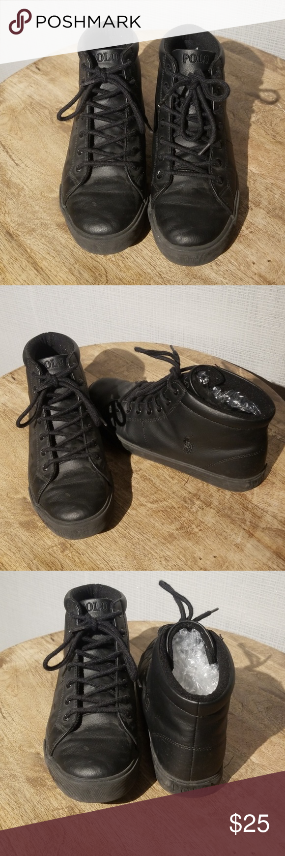 Boy's China In Scholar Polo Synthetic Lauren Sneaker Ralph Mid Made Fc1lKJT
