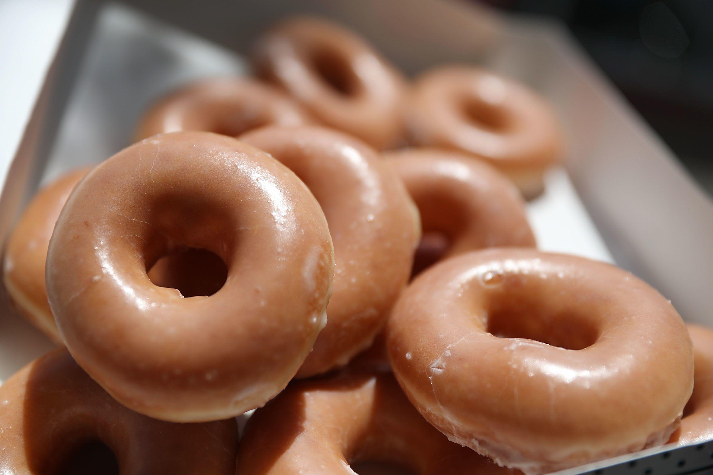 Krispy Kreme Japan Now Offers Luxury Doughnuts http://www.glamour.com/story/krispy-kreme-japan-luxury-doughnuts